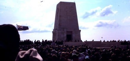 Anzac Day at Gallipoli