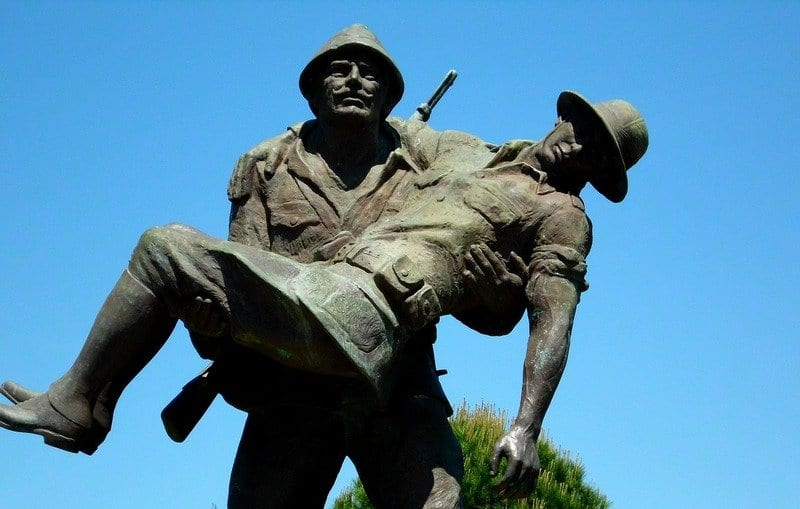 The Aussie idea of mateship stems from Anzac and the battle at Gallipoli