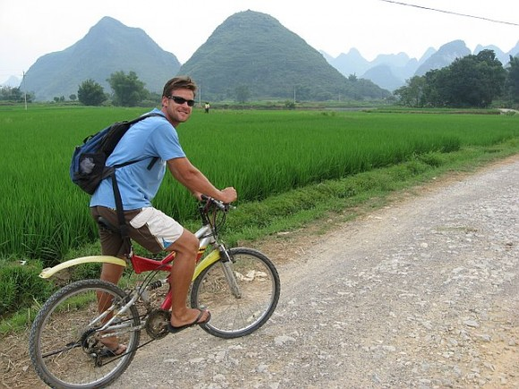 Biking in China