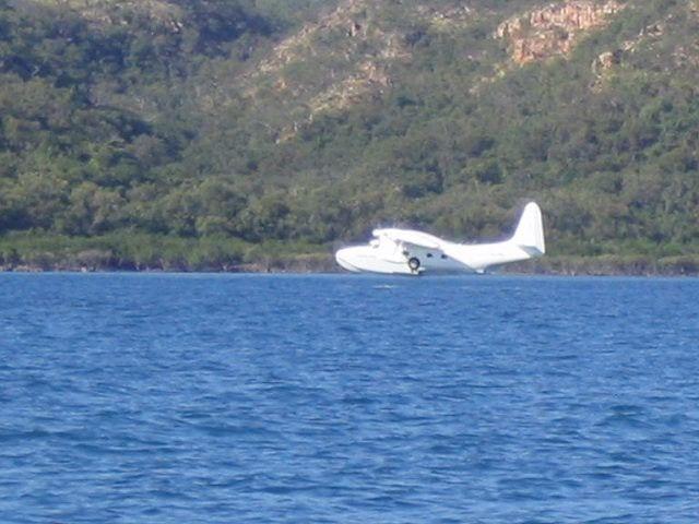 Sea plane kuri bay