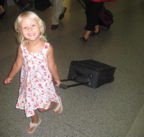 how to survive an international flight with kids