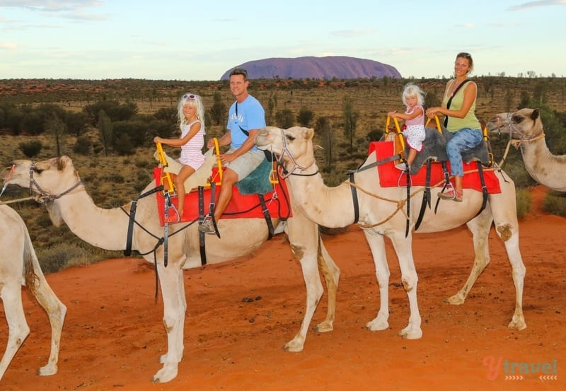 Uluru Camel Ride 071