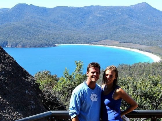 Wineglass Bay, Tasmania - one of the best short walks in Australia