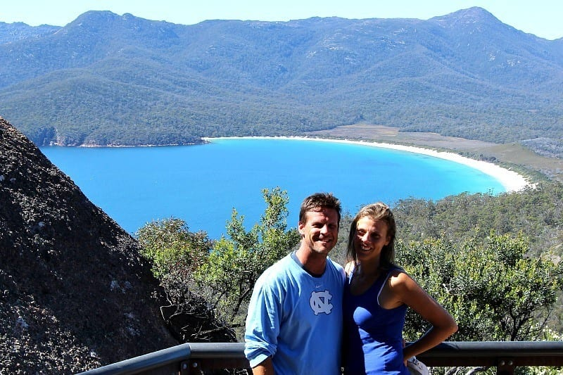 Wineglass Bay, Tasmania - one of the best short walks in Australia