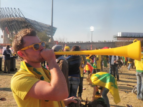 Blow your Vuvuzela South Africa World Cup