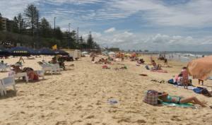 live and work in Australia- Beach