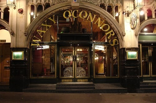 Waxy O'connors Irish Pub in London