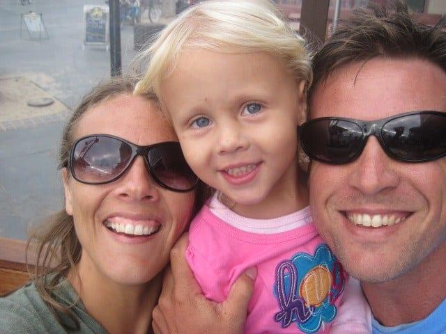 Caz, Craig and Kalrya at Hermosa
