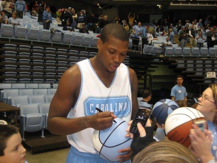 Deon Thompson UNC basketball