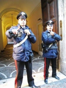 Roman police officers