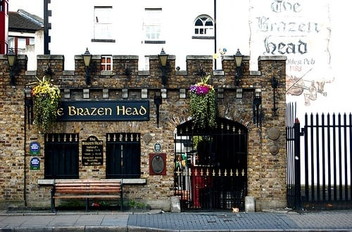 Brazen Head Pub Dublin