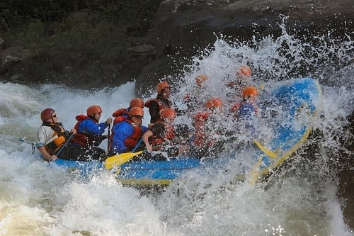 Rafting the Upper Gauley