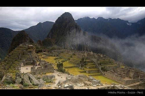 Inca trail South America