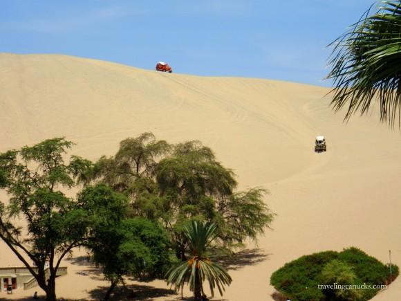 Dune Buggy Sandboarding Peru