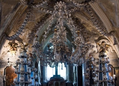 Kutna Hora Bone Church Czech Republic