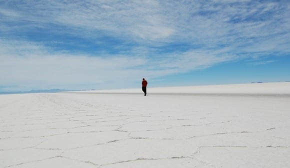 Vastness of the Salar de Uyuni