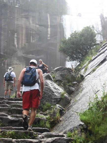 Vernal Falls staircase