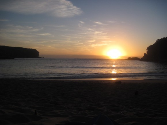 Wattamolla Beach sunrise