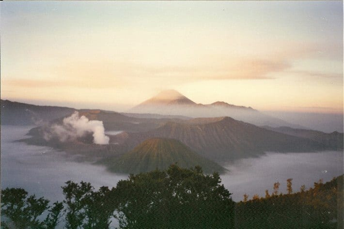 Sunrise over Mt Bromo Java Indonesia