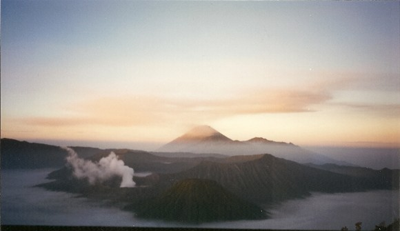 sunrise over Mt Bromo