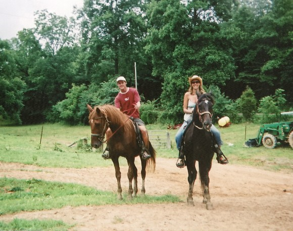 Horseriding through the Smoky Mountain National Park