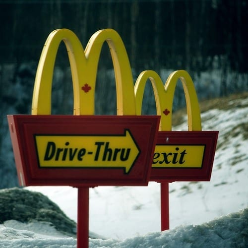 If all else fails….. There's always McDonalds