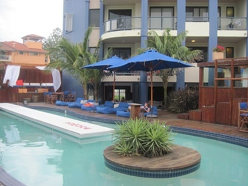 Komune Resort and Backpackers in Coolangatta, Gold Coast, Australia