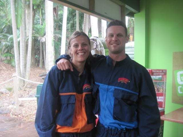 Currumbin wildlife Sanctuary High ropes challenge