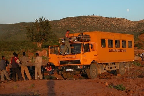 Overland safaris in Africa