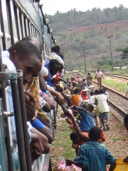 train travel in africa