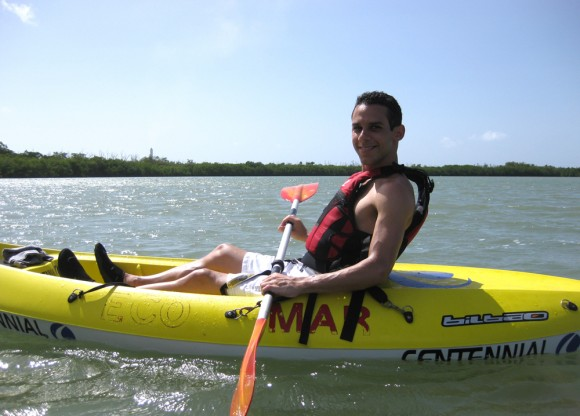 Kayaking at Guayama