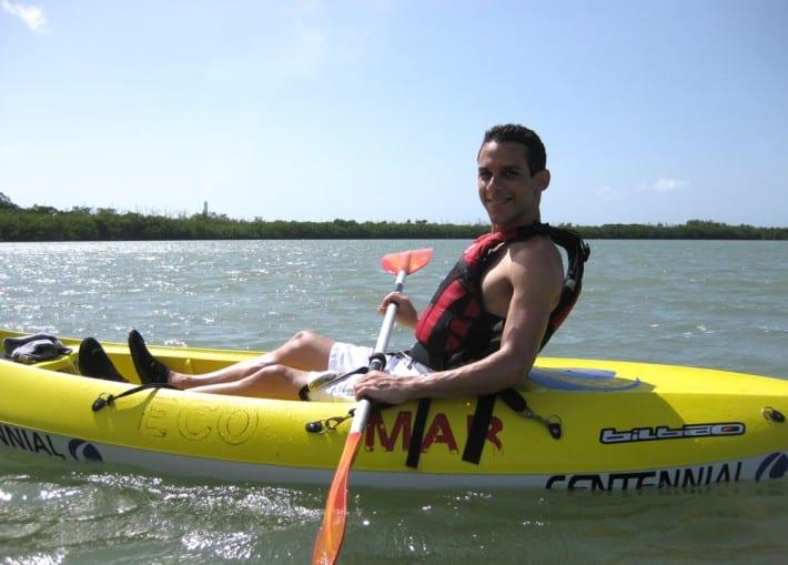 Kayaking at Guayama