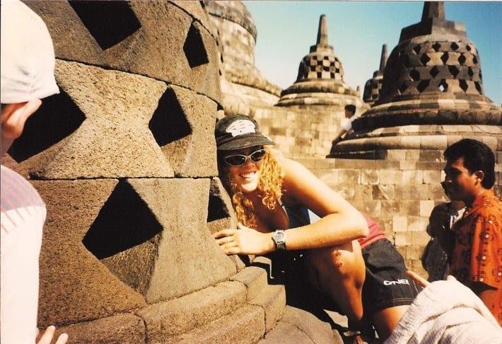 Borobudur temples Java