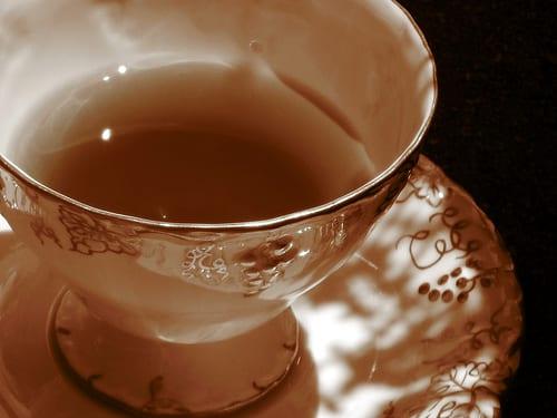 Salty tea
