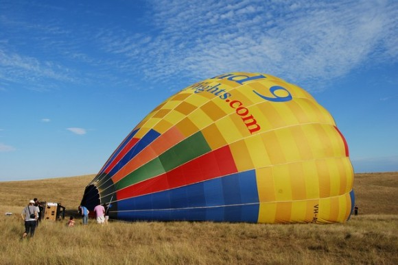Cloud 9 hot air ballooning