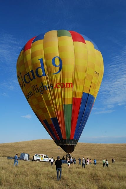 Cloud 9 balloon flights