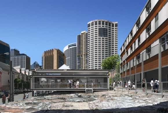 Sydney Harbour YHA Education and archeological dig site