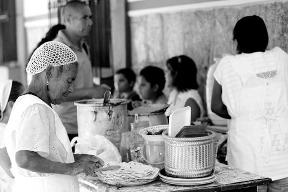 Cuisine de rue à Oaxaca