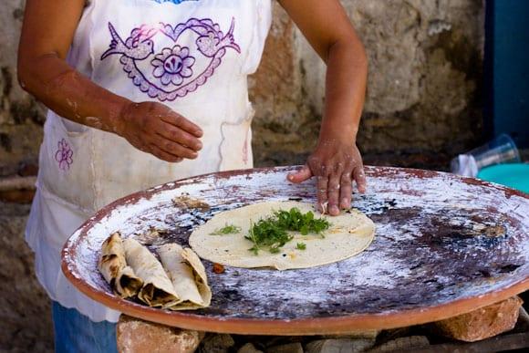 omelette aux oaxaca