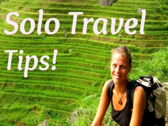 Female Solo Travel Tips - visit our blog!