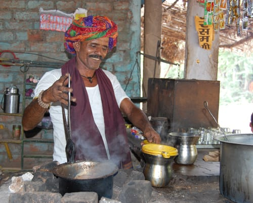 Indian Tea Man