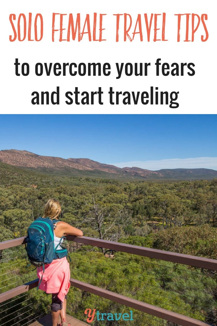 Worried about traveling alone as a women for the first time? These solo female travel tips will help you overcome your fears and start traveling