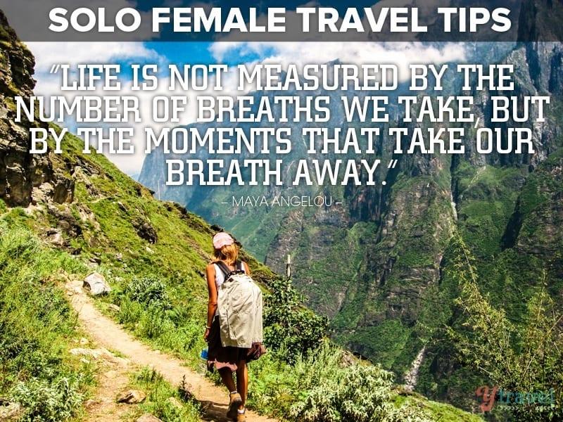 Female Solo Travel Tips