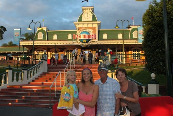 Dreamworld theme parks Gold Coast