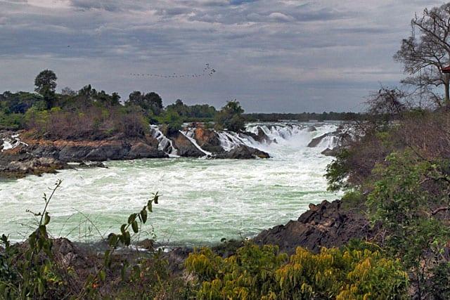 Khone Phapheng Waterfall southern Laos