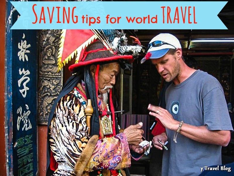 saving tips for world travel