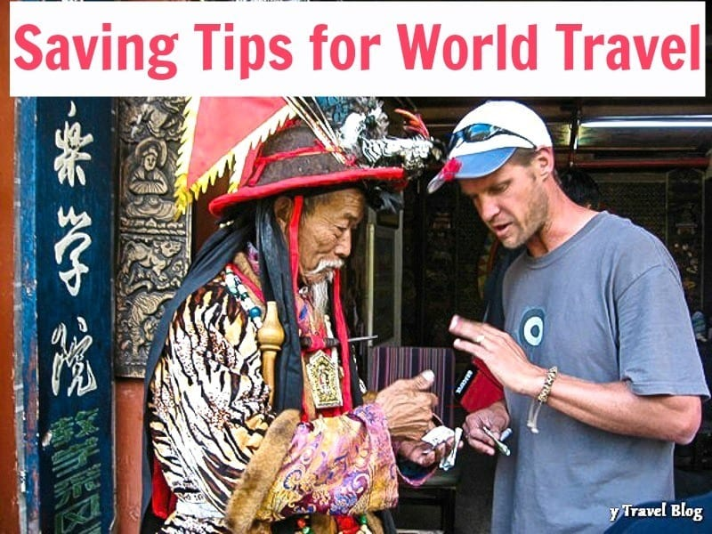 Saving Tips for World Travel