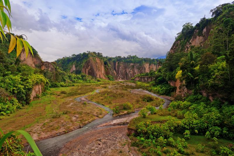 Sianok Canyon. Bukittinggi. Sumatra island. Indonesia.