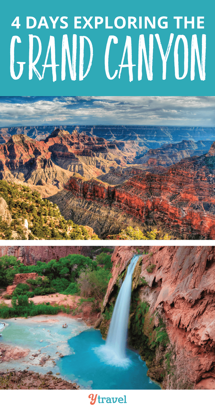 Check out our tips on how to spend 4 days exploring the Grand Canyon.