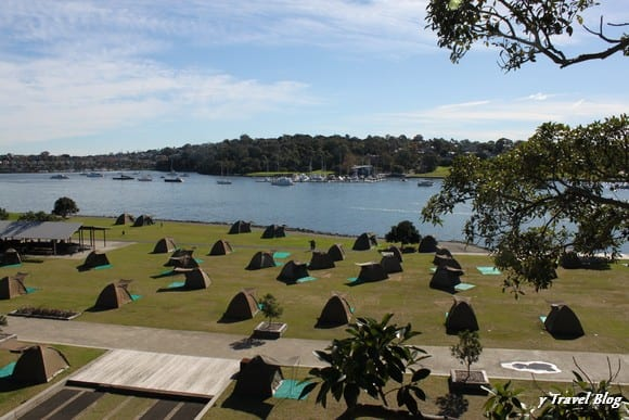 Cockatoo island campground , Sydney Australia